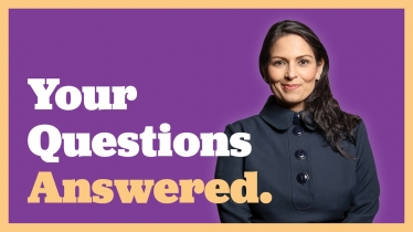 Priti Patel answers your questions